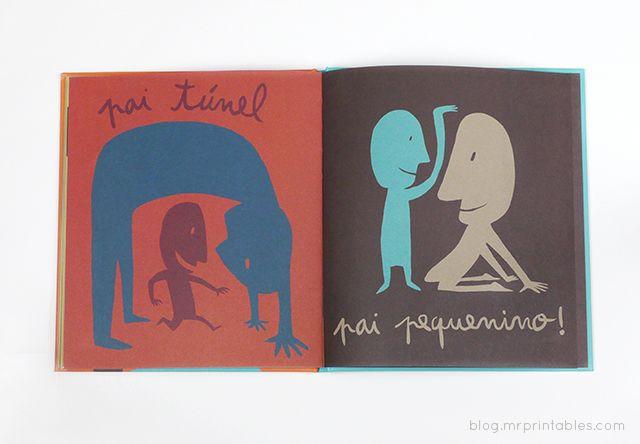 Pê de Pai (D for Dad) by Isabel Minhós Martins