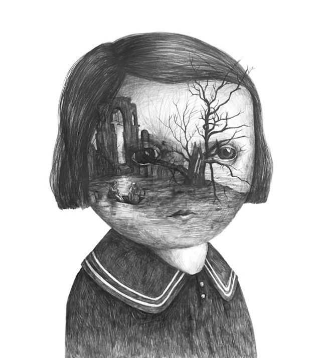 Surrealistic Drawings by Stefan Zsaitsits – Fubiz™