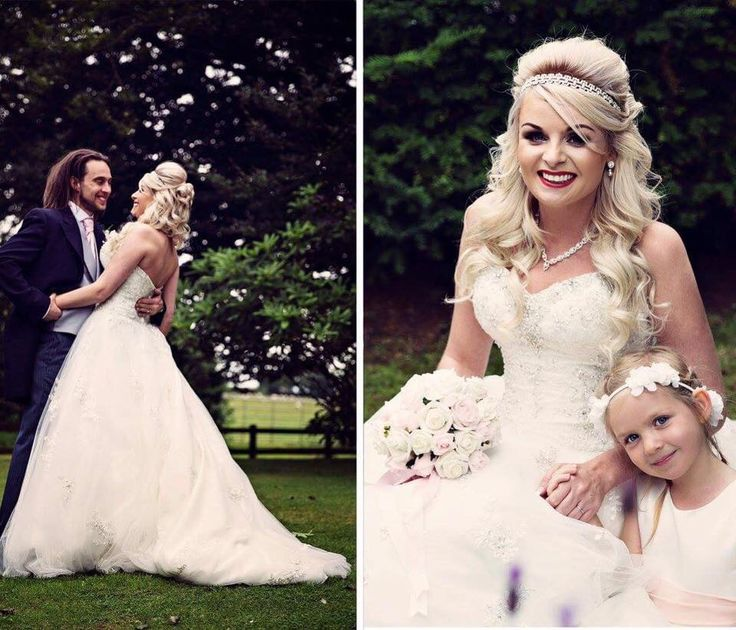 Real bride Natalie on her wedding day Skitby in Carlisle wearing Stella York. Photography by Camilla Lucinda.