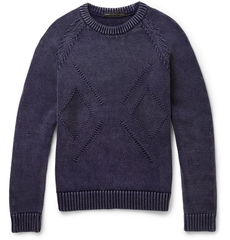 Marc by Marc Jacobs Knitted Cotton-Blend Sweater - $300