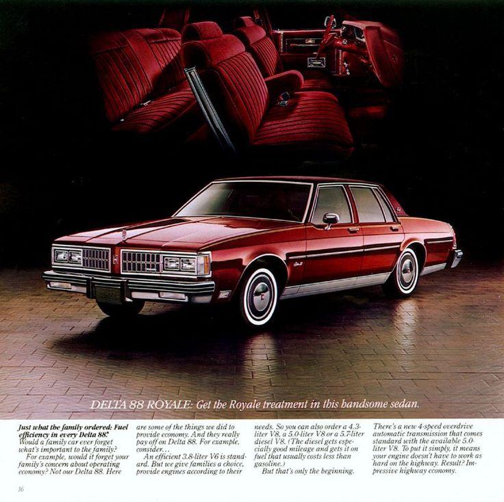 1981 Oldsmobile Delta 88 Royale Brougham Sedan, I learned ...1980 Oldsmobile Delta 88 Royale