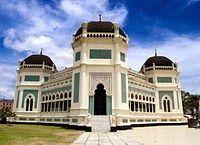 Masjid Raya Al Mashun - Medan - Sumatera Utara - Wisata Religi