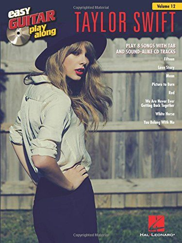 Taylor Swift: Easy Guitar Play-Along Volume 12 (Book/CD) (Easy Guitar Play-Along (Numbered))