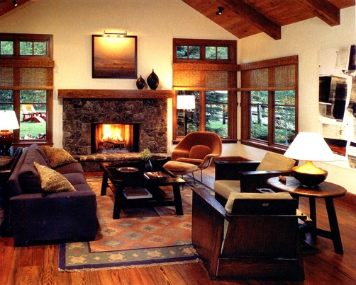 Nice Family Room With Some Craftsman/mission Style Part 86