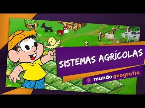 Videoaula sobre os sistemas agrícolas, abordando a agricultura de subsistência e as plantations, além de características regionais de cultivo na Ásia, Europa e Estados Unidos. Também aborda-se a questão da fome mundial, do agronegócio, do melhoramento genético e dos transgênicos.