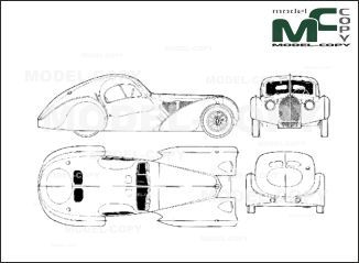22 best bugatti blueprints images on pinterest bugatti lace and bugatti t 57 sc atlantic 1938 drawing malvernweather Gallery