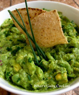 The Best Guacamole by whatsgabbycooking Guacamole whatsgabbycooking Guacamole- 3 avocados 1 lemon,