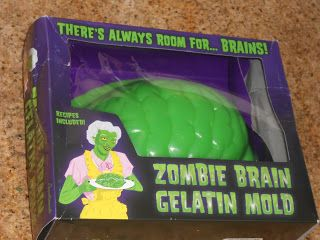 Shawna's Food and Recipe Blog: Halloween Zombie Brain! ~ The Zombie Apocalypse Store, Las Vegas!