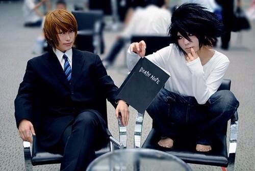 Death Note, L and Light Cosplay | Cosplays | Pinterest | L ...