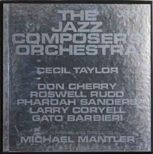 The Jazz Composer's Orchestra - The Jazz Composer's Orchestra at Discogs