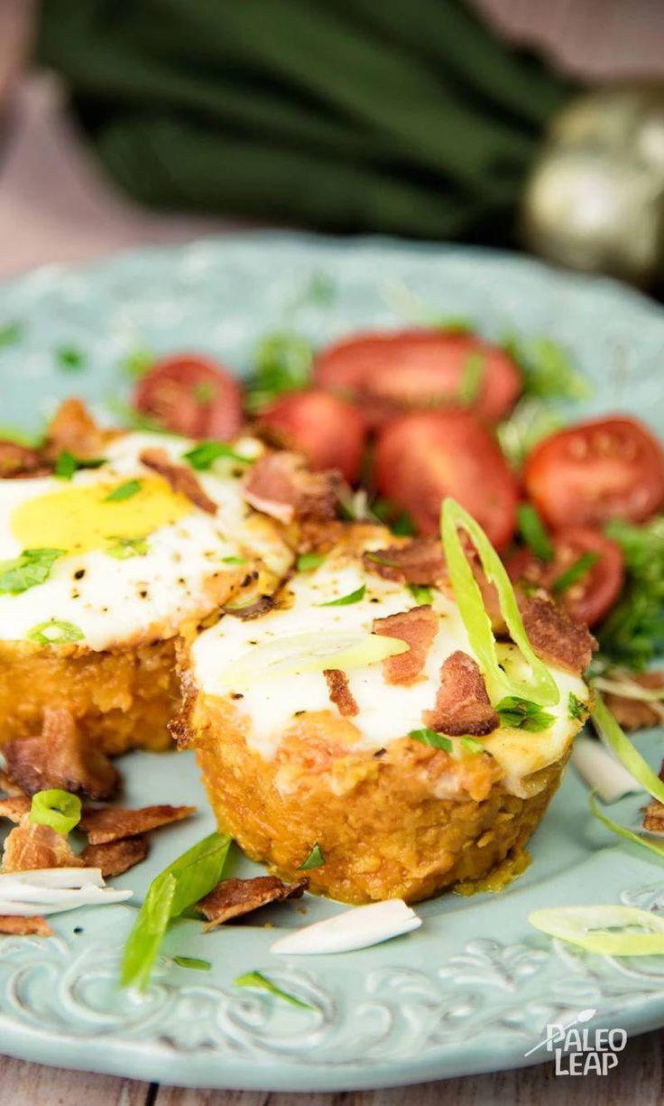 Fırında Kahvaltılık Patates Pastırma Yumurta