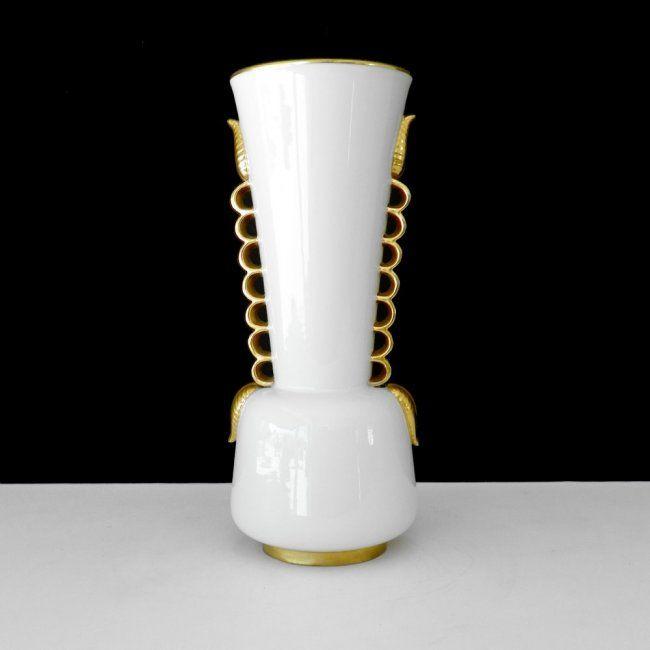 Gio Ponti Porcelain Vase