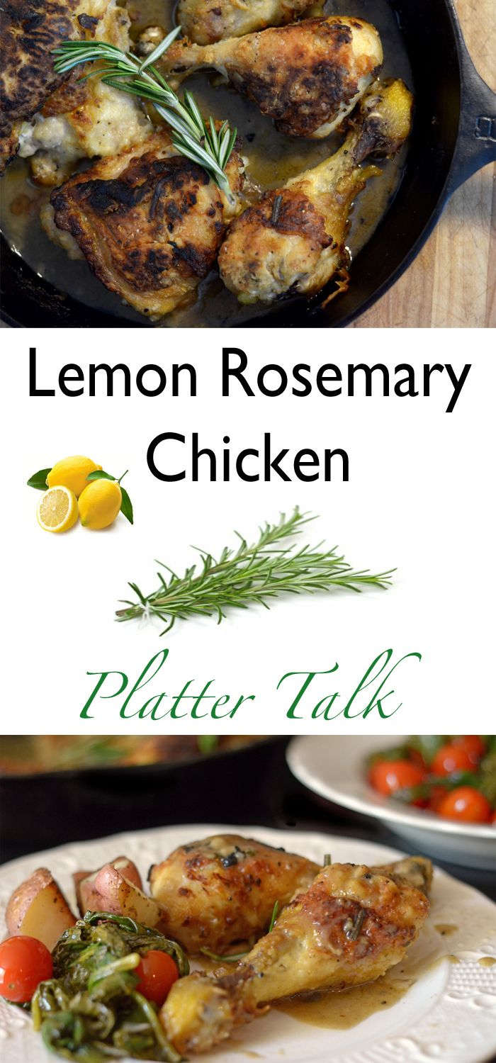 Rosemary Lemon Chicken #Sunday Supper | Recipe | Feature ...