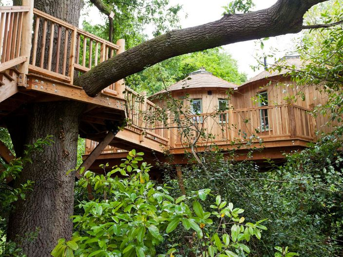 Harptree Micro Hotel — Tree House Hotel by Facit Homes