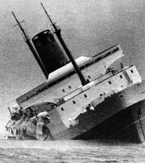 Wahine disaster, 10 April 1968 - probably the saddest day in Wellington's…