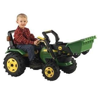 The John Deere Loader by Peg Perego is a great outdoor toy and two year old toy. The pedal bike with a loader makes this a perfect two year old gift.