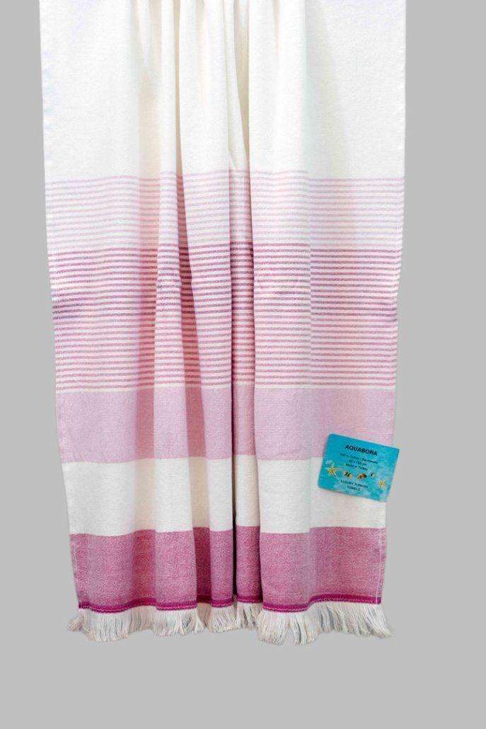 Fuchsia Bahama Turkish Towel Towel Turkish Towels Coffee Table