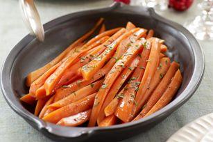 Balsamic-Glazed Carrots recipe