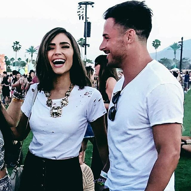 Danny Amendola &  his girlfriend Olivia Culpo attended Coachella 2017 in Indio, California a few days ago. You can tell it's true love just by looking at them in a picture. 😍 || #DannyAmendola #Amendola #DA80 #DDola80 #80AllDay #OliviaCulpo #Queen #MissUniverse2012 #NewEnglandPatriots #Patriots #Pats #PatsNation