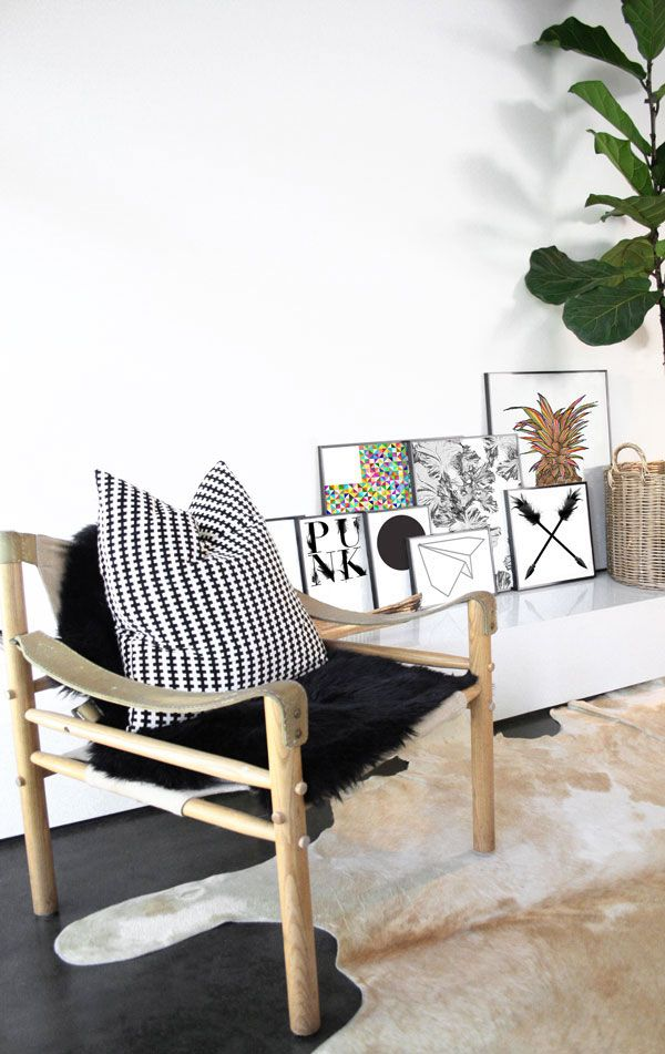 Paper Prints Range By The March Collective Safari Chair And Ikea Stockholm Cushion Look BooksIkea