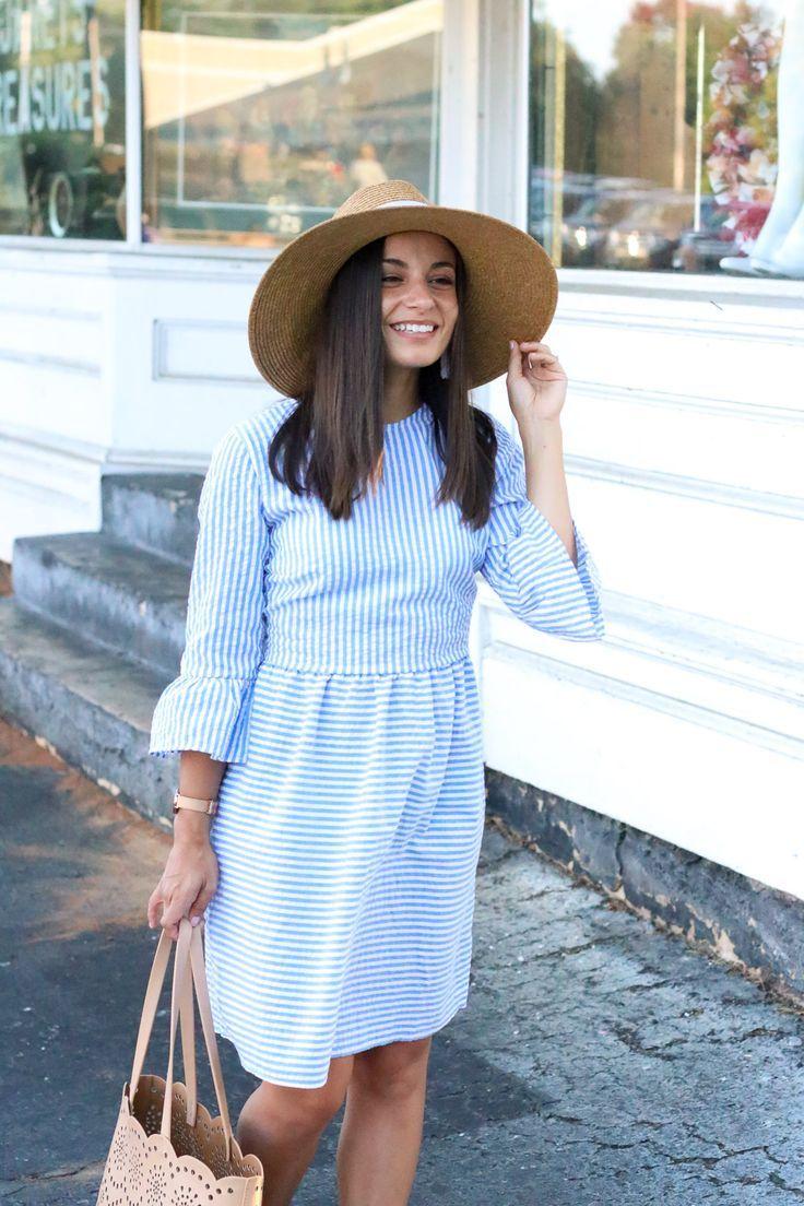 Seersucker Dress From The Mint Julep Boutique on Blogger, Brooke
