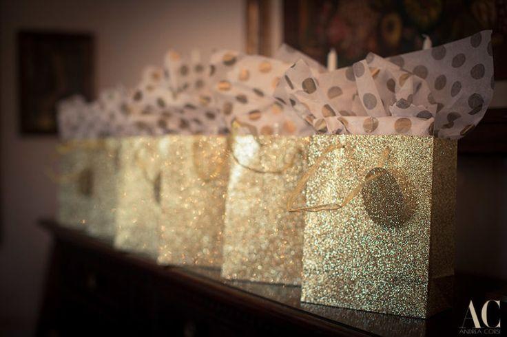 Lovely favors for Duke's bridesmaids at her wedding in Rome. www.weddingsinrome.com