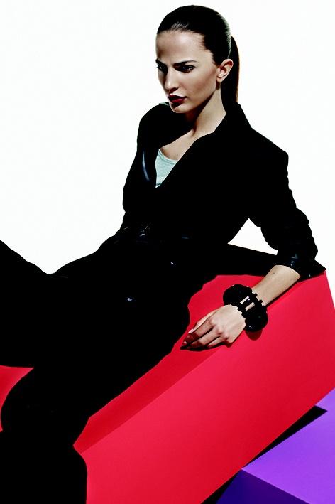 Black suit. Winter 2008.