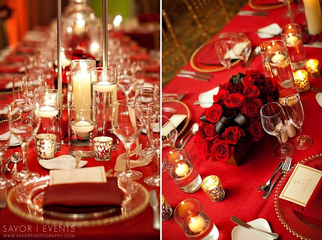 red and gold christmas table decorations loris decoration - Red And Gold Christmas Table Decorations