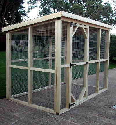 simple shed/chicken coop. This looks easy to build. Just need to add a nesting box or two.