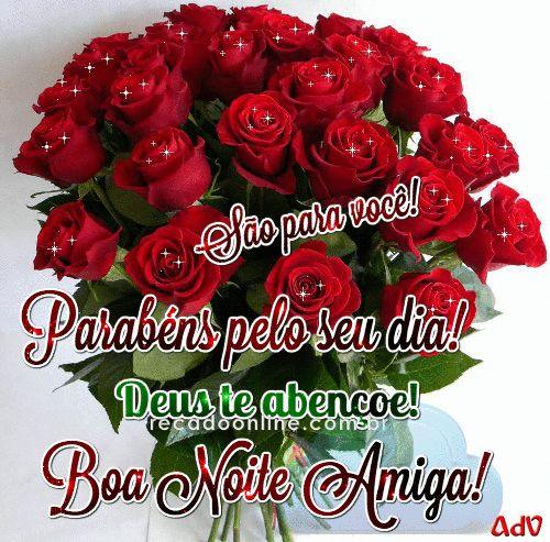 Boa Noite Amiga Gifs Good Night E Night