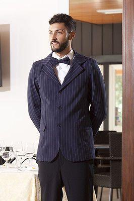 Siete pronti per il cambio di stagione? Giacca uomo elegante Gessato da lavoro Albergo Reception Abbigliamento Abiti