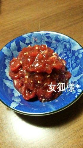 簡単♡さっぱり◆さくらユッケ◇馬肉 by 摂食障害の女狐様 ...
