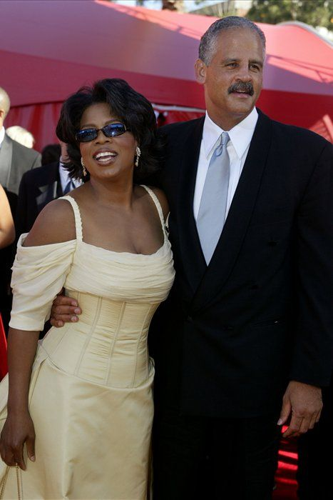 Oprah Winfrey and Stedman Graham, Emmy Award 2002