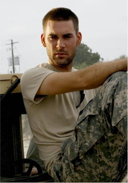 Drew Fuller (Army Wives).....don't watch army wives but I remember when he was on Charmed :-)
