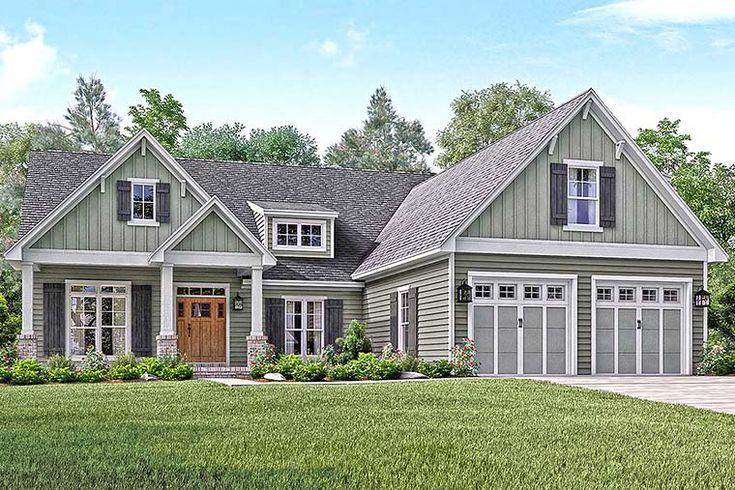 58 best New House Plans images on Pinterest Cottage House floor