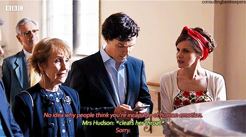 Sherlock, Mrs Hudson and Molly - The Six Thatchers
