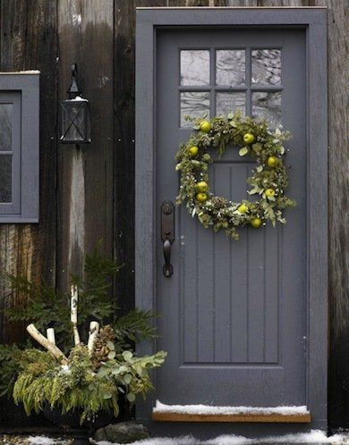 Les 25 meilleures id es de la cat gorie cottage porte d for Idee decoration porte d entree
