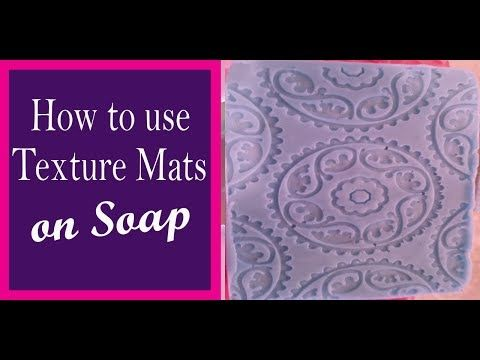 Texture sheet for making soap - YouTube | Beauty Tips & DIY