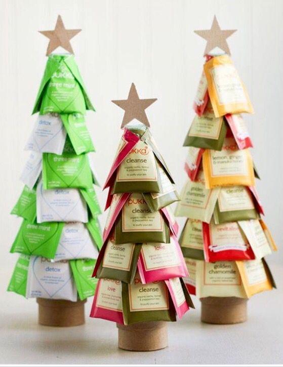 """2015 Idea  Christmas """"Tea"""" tree Tea Forte"""