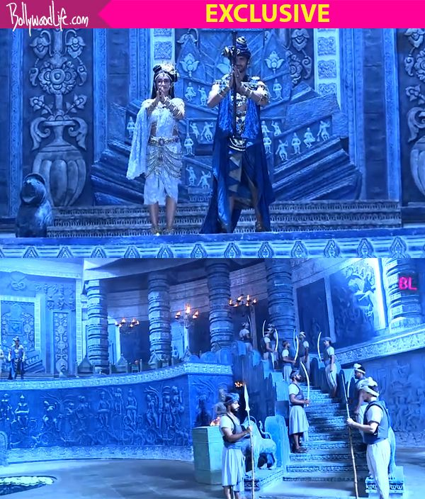 Porus – behind the scenes: Aditya Redij and Rati Pandey give us a tour of the lavish sets – watch video #FansnStars