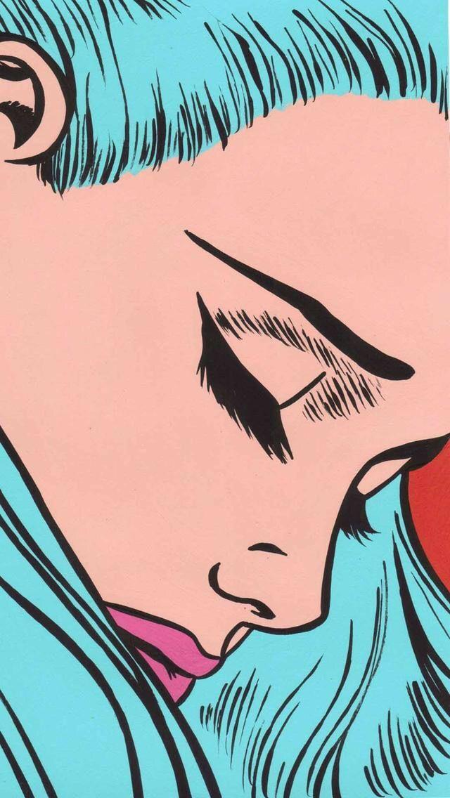 #capelli blu#bellissima❤️
