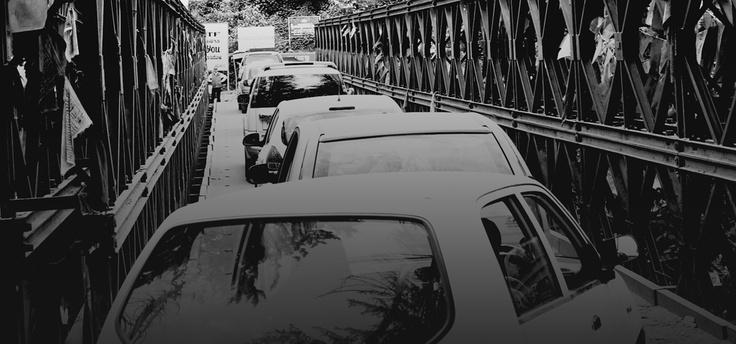 Traffic jam - Manali