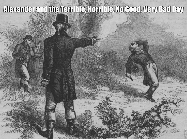 the duel between alexander hamilton and aaron burr which began in 1776 Alexander hamilton the first us secretary of the treasury, alexander hamilton   in march 1776 he became captain of a company of artillery and, a year later,   promoted election of the republican candidates, jefferson and aaron burr   this was the beginning of strained developments between hamilton and burr  that.