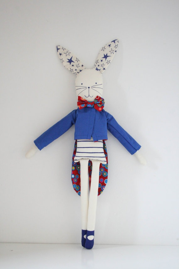 Circus Rabbit by mikodesign on Etsy, €45.00