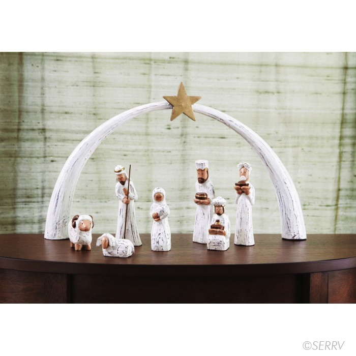 Such a pretty nativity! Fair trade from Indonesia.