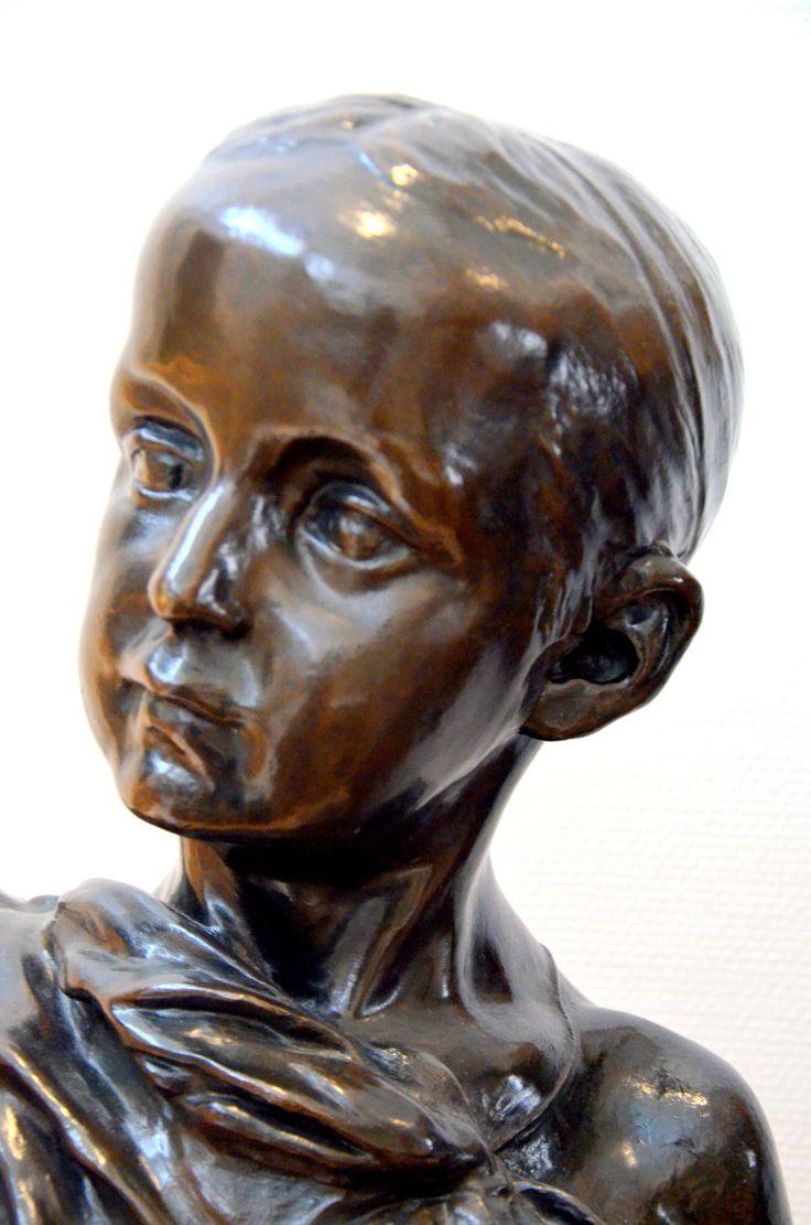 Paul Claudel à 13 ans (1881) par Camille CLAUDEL (1864-1943). Bronze. Musée Bertrand de Chateauroux. Photo Hervé Leyrit.