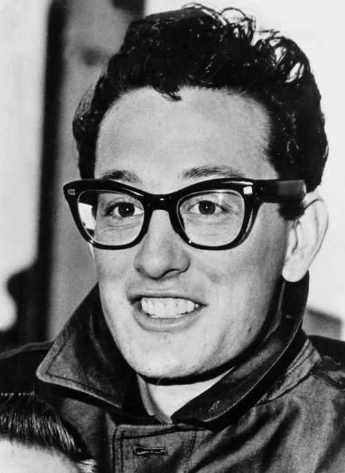 Buddy Holly, my favorite 50s artist. I like Elvis too, of course, but he didn't have glasses. :P Jk.