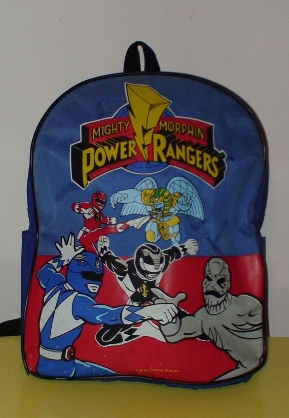 Vintage 1993 Saban Mighty Morphin Power Rangers by LolidollDiy, $15.00