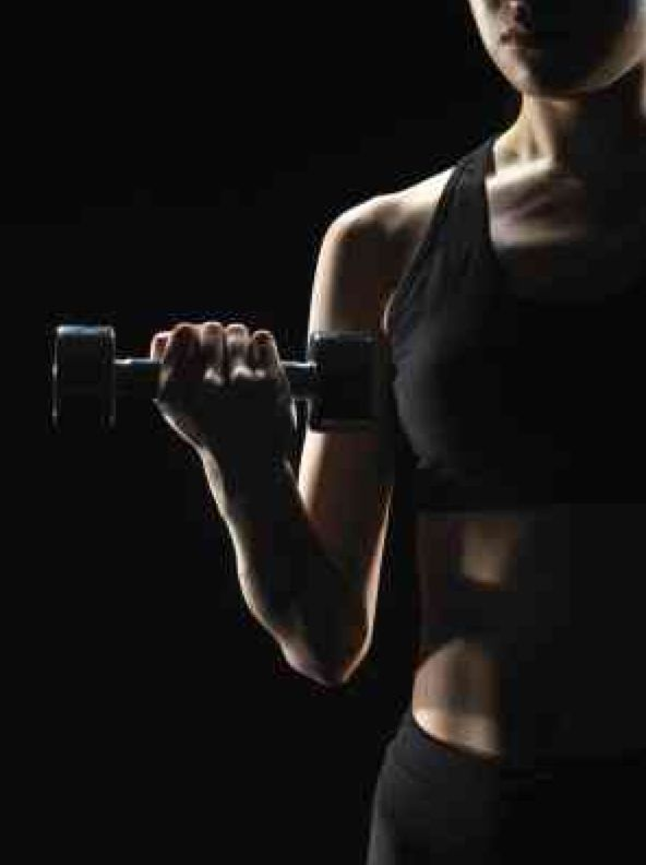 Click for a straight forward free weight routine to add to your cardio routine. http://www.livestrong.com/article/291035-free-female-weight-lifting-workout-routine/