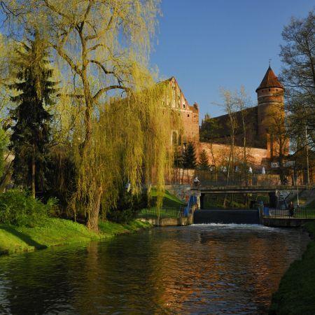 Olsztyn, park nad Łyną... uwielbiam